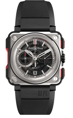 Bell & Ross Aviation   Men's Watch BRX1-CE-TI-RED