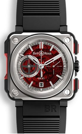 Bell & Ross Aviation  BRX1-CE-TI-REDII Men's Watch BRX1-CE-TI-REDII