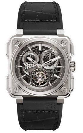 Bell & Ross Aviation  BR-X1 Chronograph Tourbillon - Titanium Men's Watch BRX1-CHTB-TI
