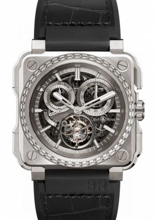 Bell & Ross Aviation  BR-X1 Chronograph Tourbillon - Titanium Men's Watch BRX1-CHTB-TI-D