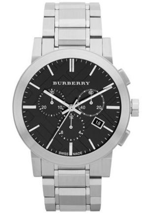 Burberry   Black Dial Chronograph Men's Watch BU9351