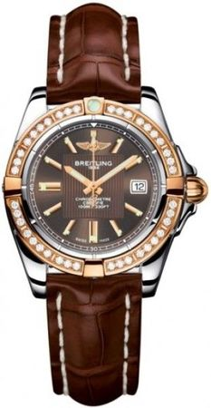 Breitling Galactic 32  Women's Watch C71356LA/Q581-CROCD