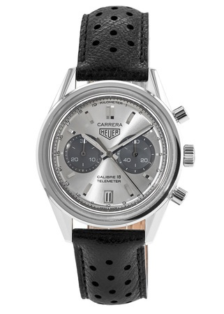 Tag Heuer Carrera Calibre 18 Chronograph Automatic Telemeter Men's Watch CAR221A.FC6353