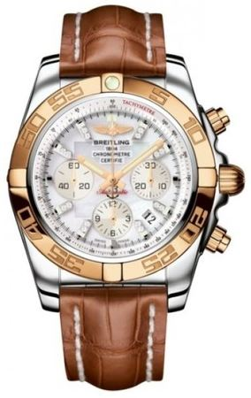 Breitling Chronomat 44  Men's Watch CB011012/A698-CROCD