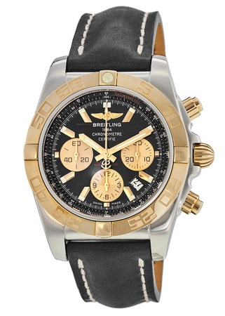 Breitling Chronomat 44 Rose Gold & Steel Men's Watch CB011012/B968-436X