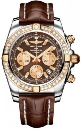 Breitling Chronomat 44  Men's Watch CB011053/Q576-CROCD