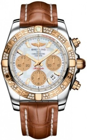 Breitling Chronomat 41  Men's Watch CB0140AA/A722-CROCD