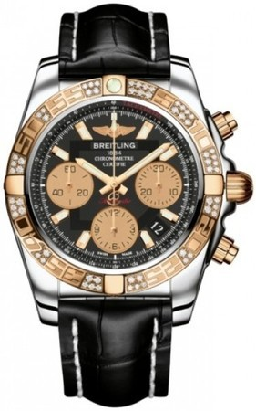 Breitling Chronomat 41  Men's Watch CB0140AA/BA53-CROCD