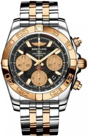 Breitling Chronomat 44 GMT  Men's Watch CB042012/BB86-TT