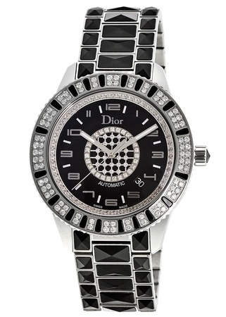Dior Christal 42mm Sapphires & Diamond Women's Watch CD115511M001