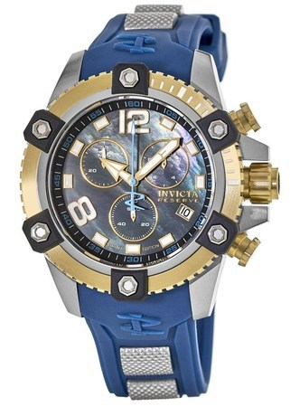 Invicta Pro Diver  48mm Black Chronograph Dial Swiss Quartz Limited Edition Men's Watch Cruiseline 16
