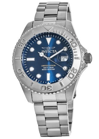 Invicta Pro Diver  Limited Edition 47mm Blue Dial Swiss Quartz Men's Watch Cruiseline 1