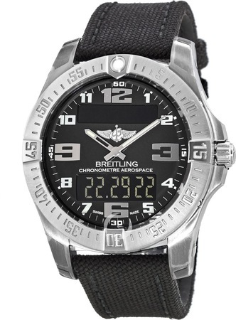 Breitling Professional Aerospace Evo  Men's Watch E7936310/BC27-103W