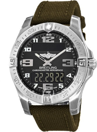 Breitling Professional Aerospace Evo  Men's Watch E7936310/BC27-106W