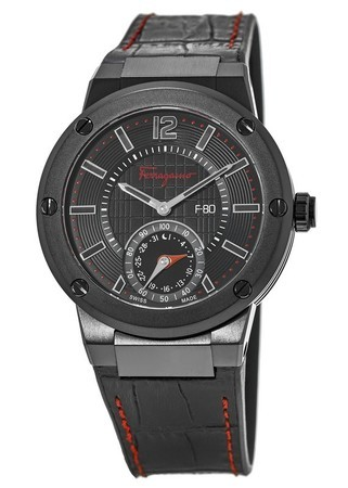 Salvatore Ferragamo F-80  Smart Black Men's Watch FAZ020016