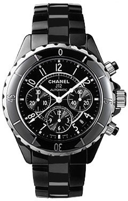 Chanel J12 Chronograph   Men's Watch H0940