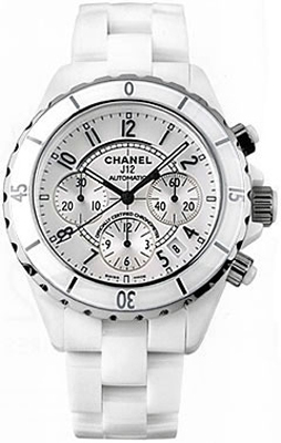 Chanel J12 Chronograph   Men's Watch H1007