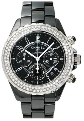 Chanel J12 Chronograph   Men's Watch H1009