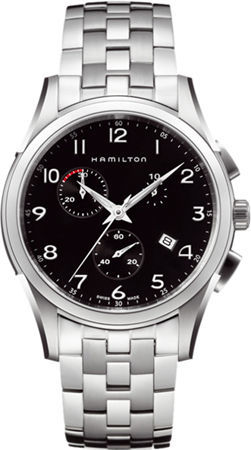 Hamilton Jazzmaster Thinline Chrono Quartz  Men's Watch H38612133