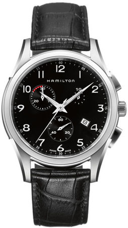 Hamilton Jazzmaster Thinline Chrono Quartz  Men's Watch H38612733