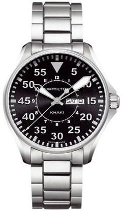 Hamilton Khaki Aviation Pilot Quartz  Men's Watch H64611135
