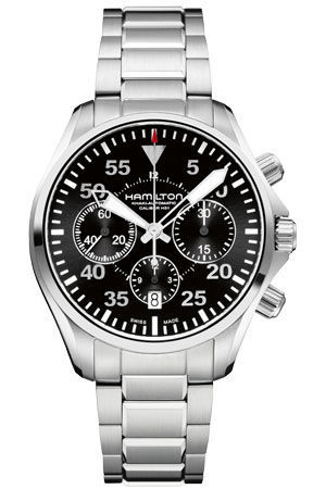 Hamilton Khaki Aviation Pilot Auto Chronograph  Men's Watch H64666135