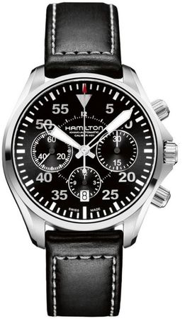 Hamilton Khaki Aviation Pilot Auto Chrono  Men's Watch H64666735