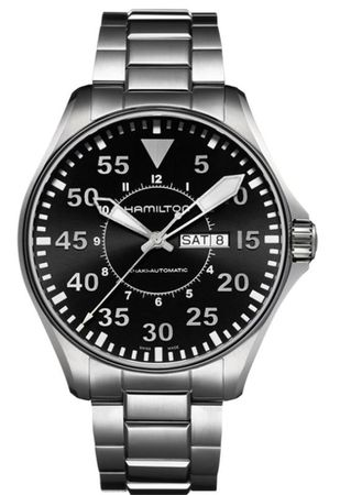 Hamilton Khaki Aviation Pilot Auto  Men's Watch H64715135