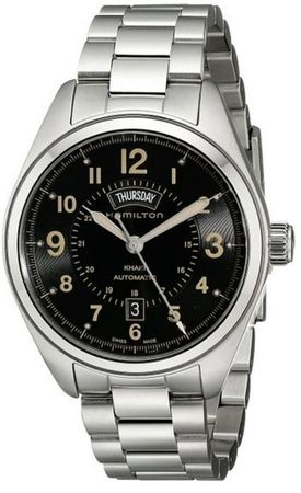 Hamilton Khaki Field Day Date Auto  Men's Watch H70505933