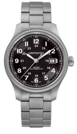 Hamilton Khaki Field Titanium Auto  Men's Watch H70565133