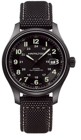 Hamilton Khaki Field Titanium Auto  Men's Watch H70575733