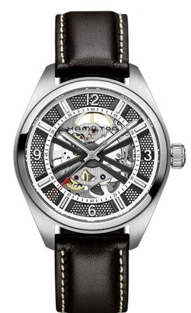 Hamilton Khaki Field Skeleton Auto  Men's Watch H72515585