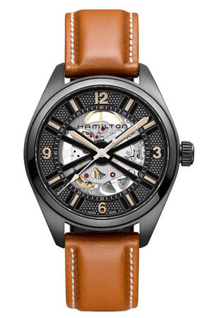 Hamilton Khaki Field Skeleton Auto  Men's Watch H72585535