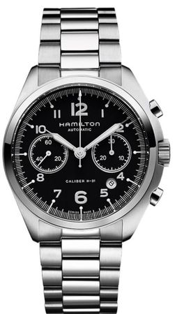 Hamilton Khaki Aviation Pilot Pioneer Auto Chrono  Men's Watch H76416135