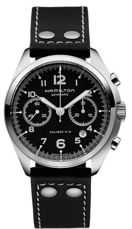 Hamilton Khaki Aviation Pilot Pioneer Auto Chrono  Men's Watch H76416735