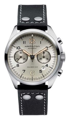 Hamilton Khaki Aviation Pilot Pioneer Auto Chrono  Men's Watch H76416755