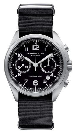 Hamilton Khaki Aviation Pilot Pioneer Auto Chrono  Men's Watch H76456435