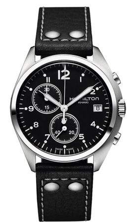 Hamilton Khaki Aviation Pilot Pioneer Chrono Quartz  Men's Watch H76512733