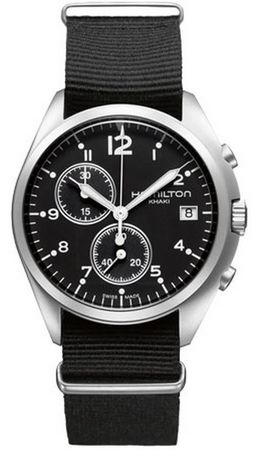 Hamilton Khaki Aviation Pilot Pioneer Chrono Quartz  Men's Watch H76552433