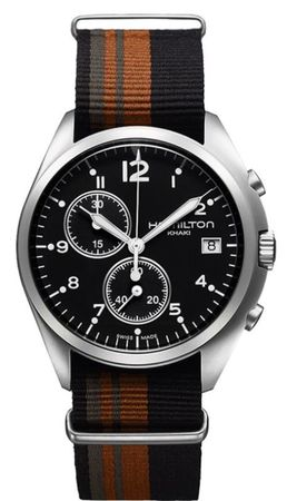 Hamilton Khaki Aviation Pilot Pioneer Chrono Quartz  Men's Watch H76552933