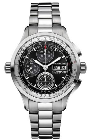 Hamilton Khaki Aviation X-Patrol Auto Chrono  Men's Watch H76556131