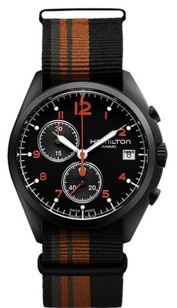 Hamilton Khaki Aviation Pilot Pioneer Chrono Quartz  Men's Watch H76582933
