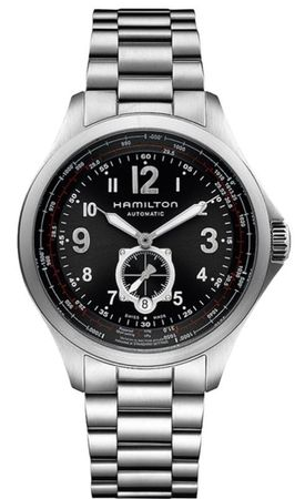 Hamilton Khaki Aviation QNE Auto  Men's Watch H76655133