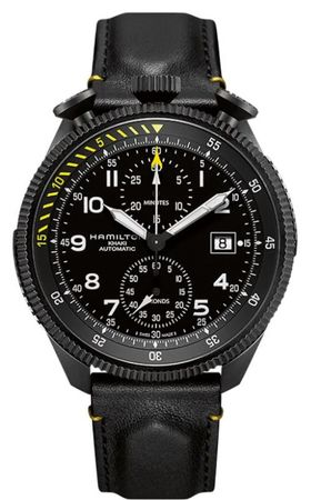 Hamilton Khaki Aviation Takeoff Auto Chrono Limited Edition Men's Watch H76786733