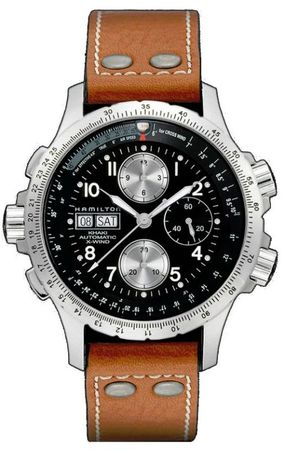 Hamilton Khaki Aviation X-Wind Auto Chrono  Men's Watch H77616533