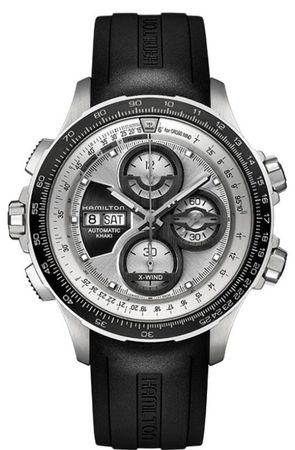 Hamilton Khaki Aviation X-Wind Auto Chrono Le  Men's Watch H77726351