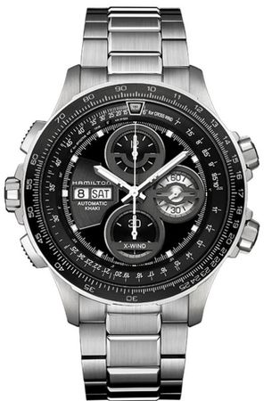 Hamilton Khaki Aviation X-Wind Auto Chrono Le  Men's Watch H77766131