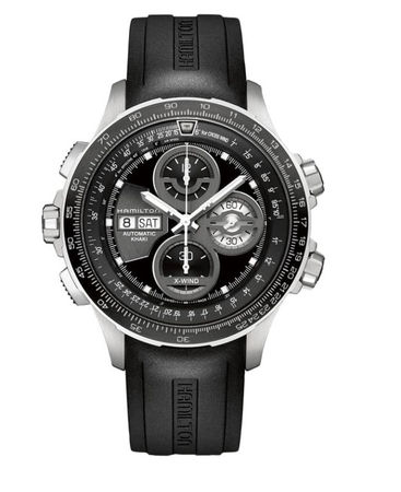 Hamilton Khaki Aviation X-Wind Auto Chrono Le  Men's Watch H77766331