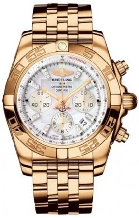 Breitling Chronomat 44  Men's Watch HB011012/A698-RG