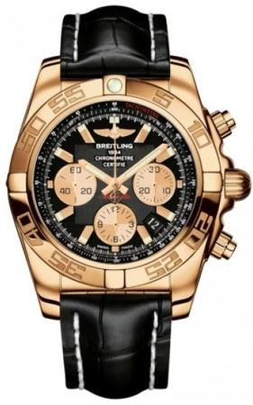 Breitling Chronomat 44  Men's Watch HB011012/B968-CROCD